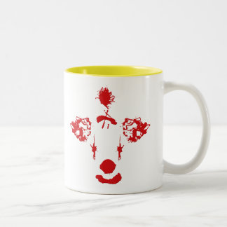 Clowns Made Me Do It Two-Tone Coffee Mug