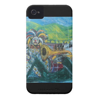 CLOWNS TRUMPET PLAYER Case-Mate iPhone 4 CASES
