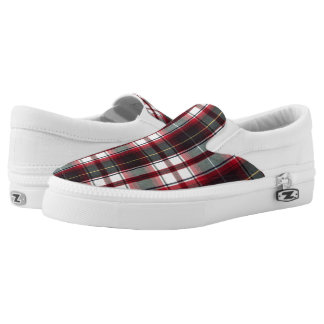 CLS Positively Plaid Canvas Slip-on Shoes