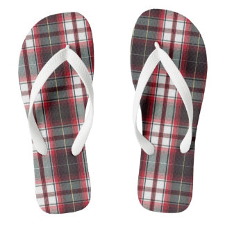 CLS Positively Plaid Flip Flops for ADULTS
