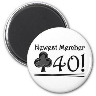 Club 40 magnet