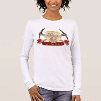 Club 49 Ladies Long Sleeve (Fitted) Long Sleeve T-Shirt