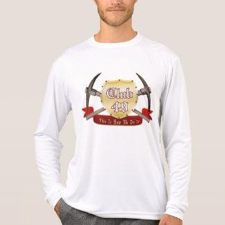 Club 49 Performance Micro-Fiber Long Sleeve T Shirts
