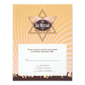 Club Bar Mitzvah Reply Card
