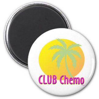 Club Chemo 6 Cm Round Magnet