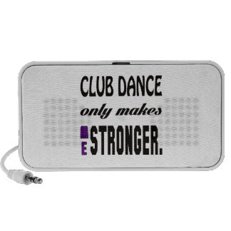 Club dance only makes me stronger speakers