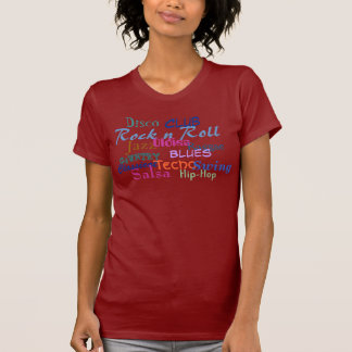 Club, Hip-Hop, Rock nRoll, Jazz, Disco- Customized T Shirts