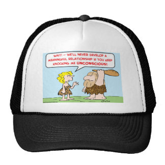 club meaningful relationship unconscious mesh hats