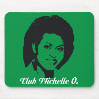 Club Michelle O. Mousepad In Kelly Green
