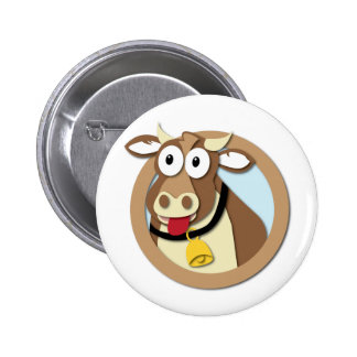 Club Naughty Cow Button