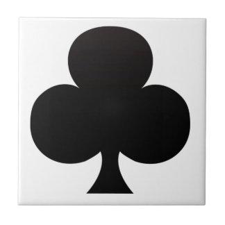 Club Poker Icon Tile