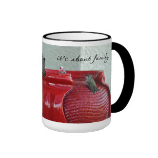 Club Red Design #444 Coffee Mug