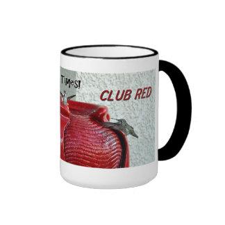 Club Red Mug Design #777
