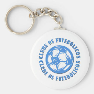 Clube os Futebolicos Key Chain