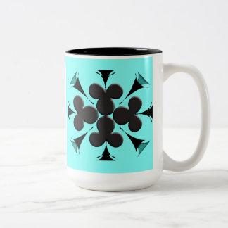 Clubs Two-Tone Mug