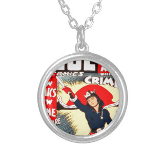 Clue Boy Silver Plated Necklace