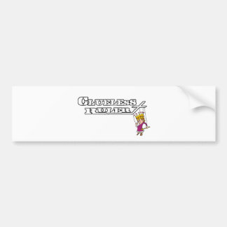 Clueless Ruler Official Band Merchandise! Bumper Sticker