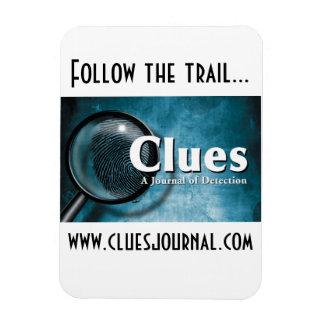 Clues Journal Magnet