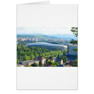 Cluj Arena Stadium in Cluj Card