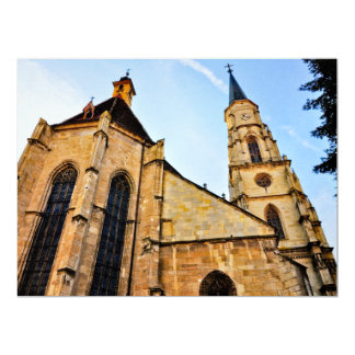 Cluj Napoca church Announcement