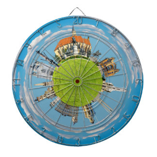 cluj napoca city romania little planet landmark ar dartboard