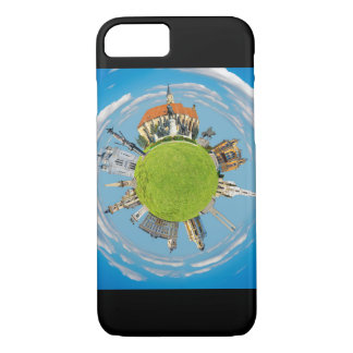 cluj napoca city romania little planet landmark ar iPhone 8/7 case