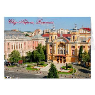 Cluj-Napoca, Romania Card