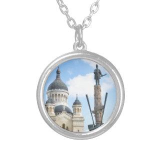 Cluj Napoca, Romania Silver Plated Necklace