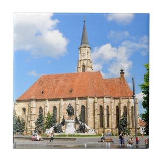 Cluj Napoca, Romania Small Square Tile