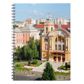 Cluj-Napoca, Romania Spiral Note Books