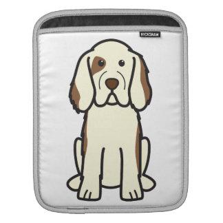 Clumber Spaniel Dog Cartoon Sleeve For iPads