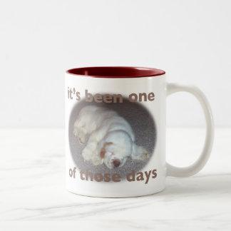 clumber spaniel mug coffee mug
