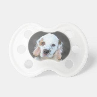 Clumber Spaniel Painting - Cute Original Dog Art Dummy