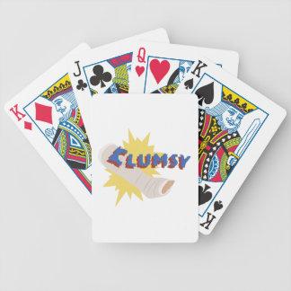 Clumsy Leg Cast Poker Deck