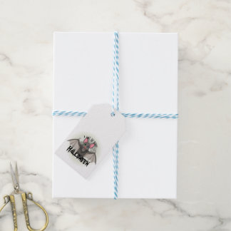 Clumsy, The Little Bat & A Not So Scary Halloween Gift Tags