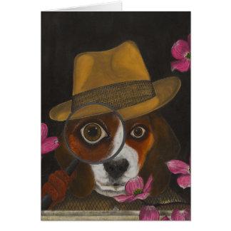 Cluny Jones, the Beagle Card