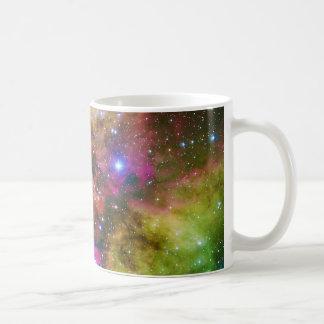 Cluster NGC 2467 Skull and Crossbones Nebula Basic White Mug
