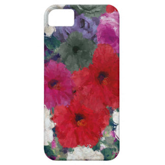 Cluster Of Abstract Flowers iPhone 5 Covers