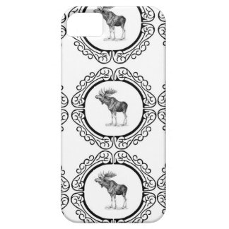 cluster of bull moose iPhone 5 cases