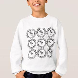 cluster of bull moose sweatshirt