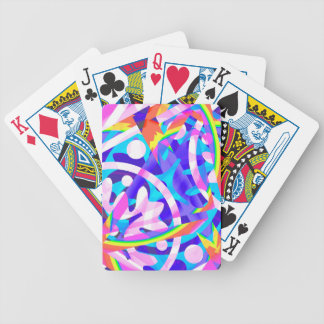Cluster of Color Violet Variation Bicycle Playing Cards