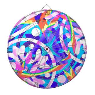 Cluster of Color Violet Variation Dartboard
