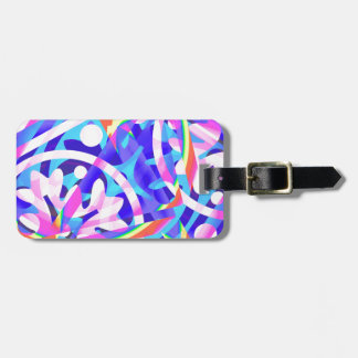 Cluster of Color Violet Variation Luggage Tag