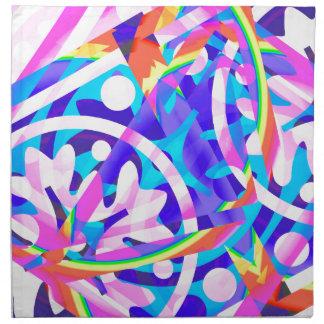 Cluster of Color Violet Variation Napkin