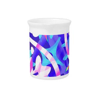 Cluster of Color Violet Variation Pitcher