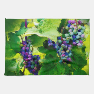 cluster of grapes kitchen towel 2017gr