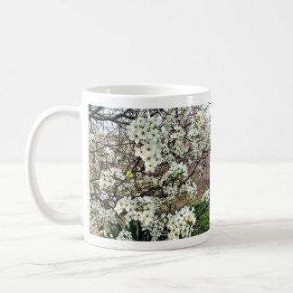Cluster of Pear Tree Blossoms Coffee Mug