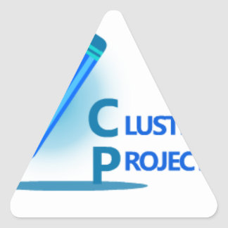 Cluster Projects Triangle Sticker