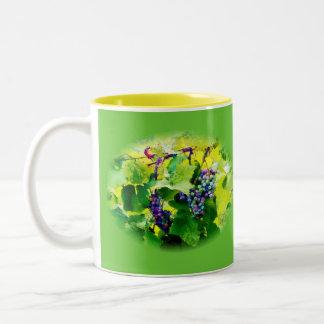 clusters of grapes 17 mug