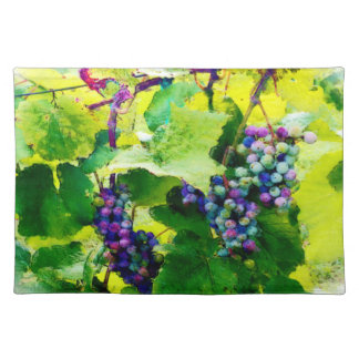 clusters of grapes 17 placemat
